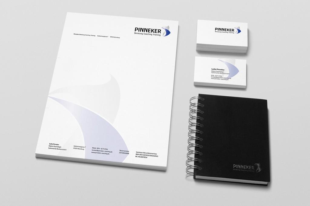 Pinnekter: Corporate Design
