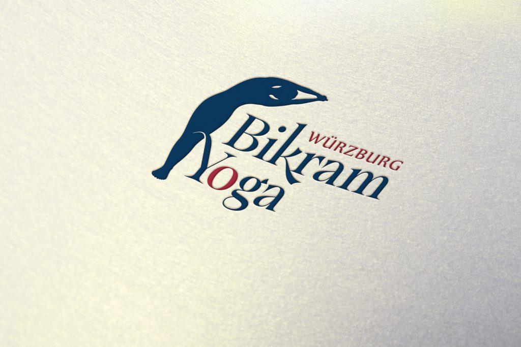 Bikram Yoga Würzburg - Logo